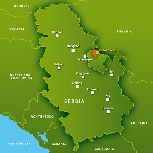 mapa srbije jezera O hotelu | Srebrno Jezero mapa srbije jezera